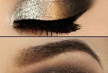 Make up magnificence / Gold eyes