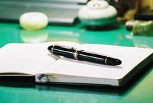 Montblanc pens / モンブラン万年筆 自分のホームページより