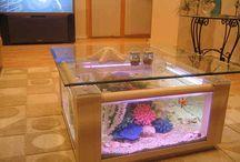 Fish Tank Aquarium Coffee Tables