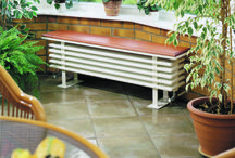 Bench Radiators / Bench radiators for more than just warmth.  Great for conservatories, bathrooms and just about anywhere.