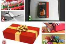 Gift Wrapping Ideas / We cannot all be amazing gift wrappers.  Here are few tips to make it easier and some creative ideas for those who are advanced.  If it is just to much during this busy time of the year we do offer Gift Certificates at www.dopuglasquikut.com for all of our brands.