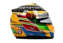 Formula 1 Driver's Helmets