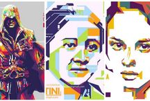 Digital Painting / WPAP created by condrociwi pangestu ageng