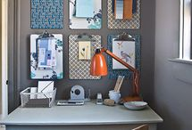 new office / by Stephanie Rue