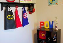 Super hero bedroom / Ideas for the boys bedroom