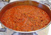 sauce spaghetti