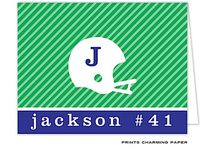 Just for Jocks / Sports themed stationery / by The Paper Cottage