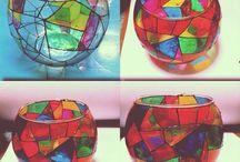 vidrioterapia / se trata de mis pinturas en vidrio... mi terapia de relajacion maxima!