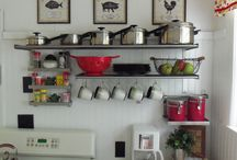 kitchen shelving idea
