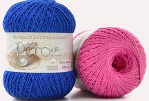 Linhas para tricô e crochê: Pérola