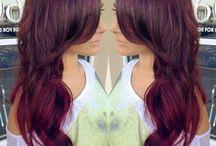 hair color / hair styles