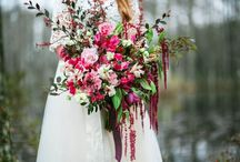 Marsala - Fall Wedding / What beautiful colors for the fall~ a blend of jewel tones that set the stage for a fabulous event.