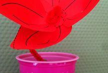 Dekoratives / Meine Muttertagsblume. Für alle Mamas mit rotem Daumen... ;o)