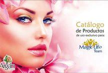 Catálogo de Productos / Catálogo Exclusivo de Argán Boutique y Magic Life Team. www.arganboutique.com.mx