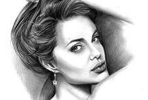 rysunek ołówkiem pencil drawing / rysunek ołówkiem pencil drawing