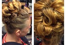 Hair ups / hair for that special occasion.
