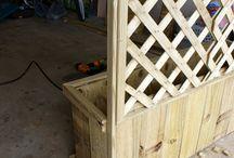 Outdoor planter box