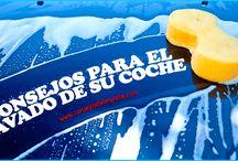 LAVAR EL COCHE / Todo los aspectos principales para lavar muy bien su coche.
