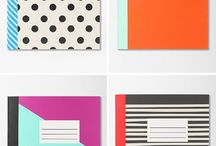 Notebooks / by Heather (Multiply Delicious)