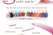 Girls beauty / Snails - Safe nailsThe world's first 100 % European water soluble and easily washable children's nail polish – and a new age of safe, simple and sustainable cosmetics that colour kids' worlds and nails, naturally. In stock now! / by Petit Australia