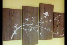 Barn wood ideas