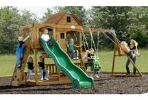 Swing set for kiddos / by Ronnie Fedun