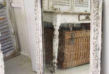 Mirror &  Decorative Panel