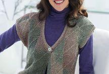 June's knitting