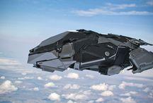 sci fi vehicles