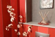 Un petit coin de déco / Quand la décoration envahit toilettes et WC