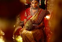 Indian Bridal Sarees / Pure elegant is found in traditional wear like these..