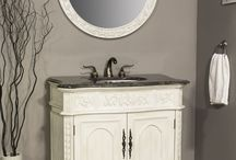 BATHROOM VANITIES / Give your #bathroom an #upscale appearance with  #elegant #bathroom #vanities. Great number of selections you can find on our web site: http://www.homedesignoutletcenter.com/