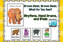 """Brown bear, brown bear"" activities"