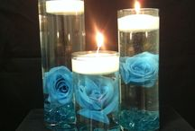 Candles centerpiece