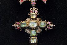Кресты, ордена, украшения