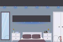 #SpringPins Bedroom