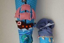 Einschulung - DIY, nähen, Ideen / Schultüte, Geschenkideen Einschulung, DIY, nähen, Einschulungskleid nähen, Schultüte nähen,