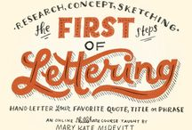 Crafts: Hand Lettering / by Lora Lacey