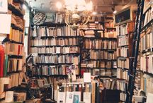 Book Shops and Libraries.