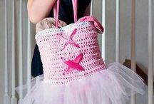 ballet bag crochet