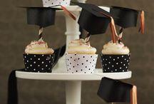 Graduation/Abschlussfeier / Partydekoration, Tischdekoration, DIY-Ideen,