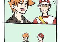 RED X BLUE pokemon