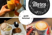 Coffee & Tea by Cremeria Marco / Something sweet for your eyesight./ Ceva dulce pentru plăcerea ochilor.