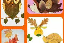 zwierzęta z liści