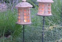 Ceramics: Lanterns