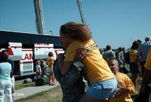 Military family / Military, military family, deployments, army national guard, yellow ribbon