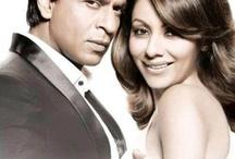 Shahrukhan & Gauri Khan