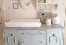 Baby room and closet ideas