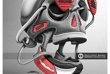 Shoes Skull art