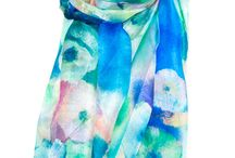 100% Silk Scarves / Our stunning and luxurious 100% silk scarves are simply gorgeous, go on...treat yourself